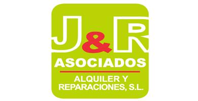 logo J&R Asociados. Reparación, Mantenimiento, Alquiler y Venta de Telescópicos, Transpaletas, Carretillas y Plataformas Elevadoras